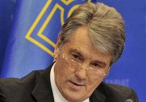Ющенко не считает Арбузова достаточно опытным для руководства НБУ