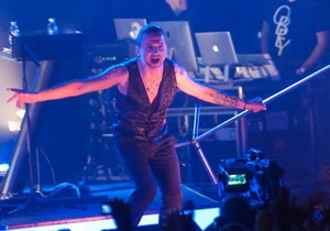 Фотогалерея: Depeche Mode в Киеве
