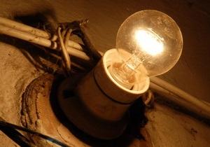 В Одесской области начались веерные отключения электроэнергии из-за перегрузки сетей