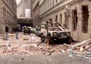 В центре Праги прогремел взрыв
