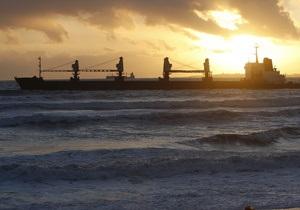 Сомалийские пираты захватили греческое судно в Аденском заливе