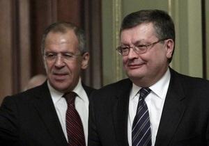 Грищенко и Лавров провели встречу в Нижнем Новгороде