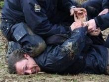 Акция у штаб-квартиры НАТО закончилась массовыми арестами