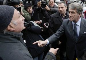 Мужчина, обозвавший Ющенко  паскудой , оказался сторонником Тимошенко