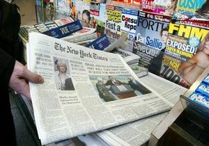 Газету New York Times обвинили в сексистском некрологе
