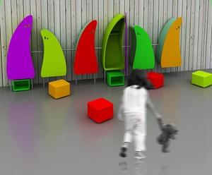 Презентация новой коллекции детской мебели  Baby   на  выставочном комплексе  Росстройэкспо   (дизайн центр  АРТ-ФЕРМА ).