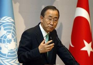 Генсек ООН призвал ввести санкции в отношении КНДР