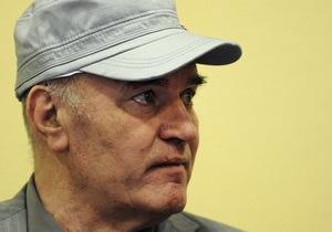 Младич попросил время на изучение обвинений