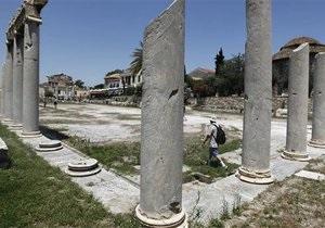 Выручка турсектора Греции падает из-за политической неопределенности