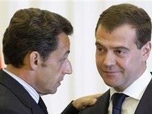 Медведев готов продолжать контакты с Саркози по ситуации вокруг Абхазии и Южной Осетии