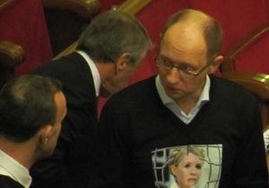 Яценюк уверен, что Табаловы сложат мандаты