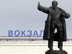 В пригороде Петербурга неизвестные взорвали памятник Ленину