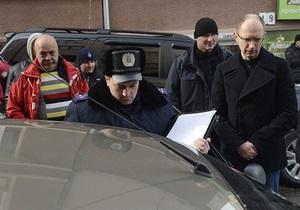 слежка за Яценюком - Черновицкая милиция о слежке за Яценюком: Впервые слышим о таком случае