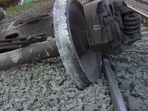 В Винницкой области сошел с рельсов грузовой поезд