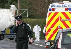 В Северной Ирландии рядом с полицейским участком взорвали заминированный автомобиль