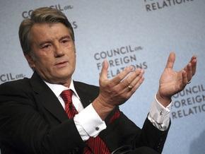 Во Львове Ющенко принимает участие в совещании по ситуации с заболеваемостью гриппом