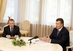 Янукович поручил Лавриновичу и Лукаш начать совершенствование закона о выборах