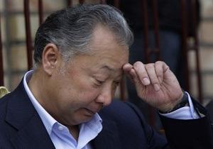 Бакиев считает, что к беспорядкам привела бытовая ссора между узбеком и киргизом