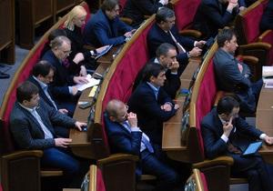 Рада вновь отказалась назначить выборы в Киеве