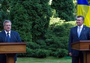 В Украину с двухдневным визитом прибыл президент Польши