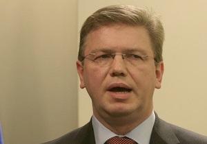 Еврокомиссар: ЕС обеспокоен ухудшением состояния демократии в Украине