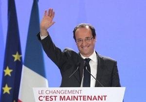 Олланд обещает французам вывести Европу на путь развития