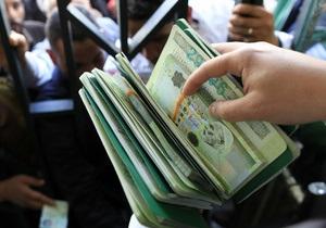 В Британии конфисковали партию ливийской валюты, эквивалентную $160 млн