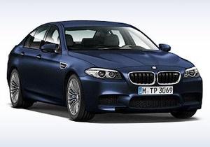BMW случайно рассекретила седан М5