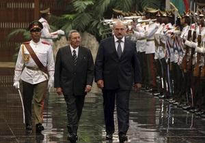 Лукашенко встретился с лидером Кубы