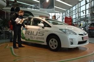 Семейный уикенд с Toyota Prius в Тойота Центр Киев  ВиДи Автострада