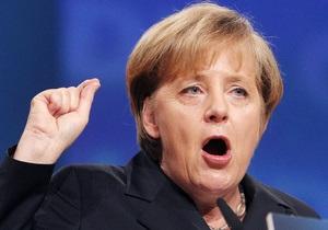 Меркель: Крах евро повлечет за собой крах Европы
