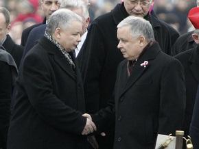 Польским братьям-близнецам Качиньским исполнилось 60 лет