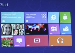 Windows 8 негативно влияет на рынок компьютеров