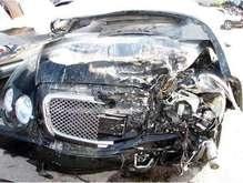 Свидетель резонансного ДТП в Крыму: Bentley двигался со скоростью 250 км/ч