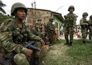 Спецслужбы Колумбии уничтожили 12 охранников главы РВСК