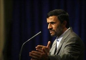Ахмадинеджад: Обама разочаровал весь мир