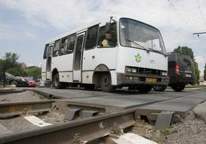 ГАИ: Почти половина железнодорожных переездов находится в неудовлетворительном состоянии