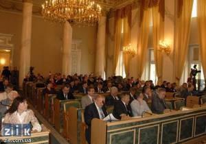 Во Львовском облсовете подрались свободовец и регионал