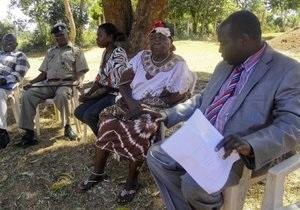 В Кении бабушка Обамы попала в ДТП