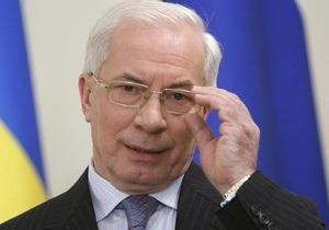 Азаров поздравил Назарбаева с юбилеем