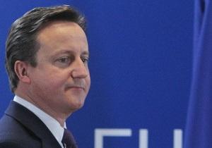 Кэмерон не торопится скидываться МВФ на спасение еврозоны