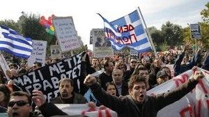В Греции большинство жителей недовольны решениями ЕС по списанию долга