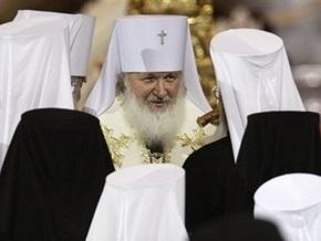 Тимошенко поздравила патриарха Кирилла
