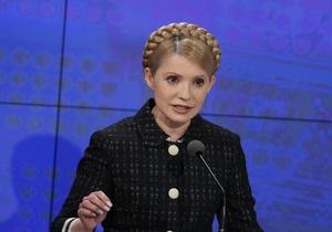 Тимошенко убеждена, что Украине необходимо сотрудничество с МВФ