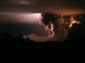На юге Чили произошло новое извержение вулкана Чайтен