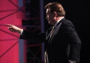 Самым успешным политическим ток-шоу стала Большая политика на Интере