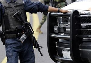 В Мексике за связи с криминалом планируют уволить 65 тысяч полицейских