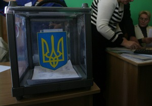 В Киевский области процесс подсчета голосов затягивается