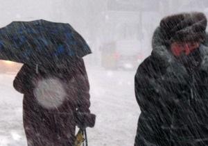 Фотогалерея: Снежная катастрофа на юге и востоке Украины