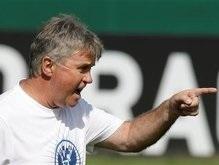 Евро-2008: Хиддинк призывает сборную России не бояться испанцев